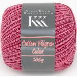 Cotton Filigran Color von KKK, Rot-Color