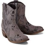 COX Western-Boots python Damen