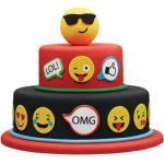 COXIMUS backen und mehr Tortendekoration Kindergeburtstag | Kuchen Tattoos Emojis | fertige Fondant Dekoration Emojis