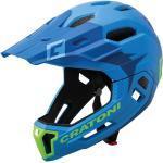 Cratoni Bike Cross Helm »MTB-Fahrradhelm C-Maniac 2.0 MX«, blau, blau/lime matt - blau-grün