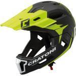 Cratoni Bike Cross Helm »MTB-Fahrradhelm C-Maniac 2.0 MX«, schwarz, schwarz/lime matt - grün-schwarz