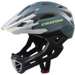 Cratoni Fahrradhelm C-Maniac (Full Protection) anthrazit/schwarz matt