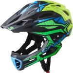 Cratoni Fahrradhelm C-Maniac PRO (Full Protection) schwarz/lime/gelb matt