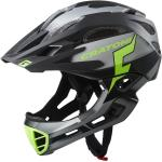 Cratoni Fahrradhelm C-Maniac PRO (Full Protection) schwarz/lime matt
