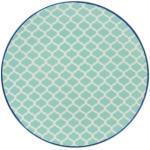 CreaTable Teller flach/ Dessertteller MEDITERRAN 21 cm petrolblau