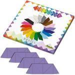 CreativaMente - Vorgeschnittene Karteikarten mit Faltschienen zum Herstellen von Origami 3D, Farbe Violett, 859