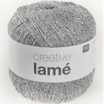 Creative Lamé von Rico Design, Silber
