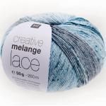 Creative Melange Lace von Rico Design, Denim Mix