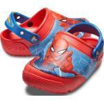 Crocs Boys' Crocs Fun Lab SpiderMan Light Clog Flame 21-22