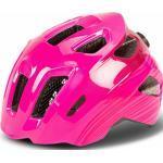 Pinke Cube Kinderfahrradhelme 48 cm