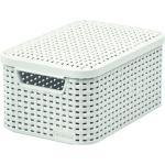 CURVER STYLE S Aufbewahrungsbox mit Deckel 29,1 x 19,8 x 14,2 cm creme 03617-885