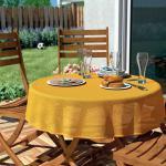 d-c-garden Gartentischdecke Florida 130 cm rund, gelb (GLO706402056)