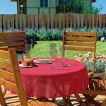 d-c-garden Gartentischdecke Florida 150x220 cm, rot (GLO706402059)