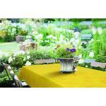 Gelbe Nachhaltige Tischläufer