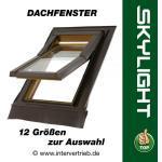 Dachfenster Dachflächenfenster Dach Fenster Skylight Kunststoff incl. Eindeckrahmen
