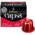 Dallmayr Capsa Espresso Decaffeinto Kaffeekapseln 10 Portionen