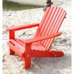DanDiBo Strandstuhl Holz Rot Gartenstuhl klappbar Adirondack Deckchair 4260407935510 (93551)