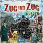Days of Wonder Zug um Zug - Europa, Gesellschaftsspiel