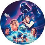DECOCINO essbarer Zucker-Tortenaufleger DISNEY Star Wars | Disney-Klassiker – Star Wars-Kuchendeko, Tortendeko | Kindergeburtstag, Geburtstagsdeko