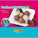 DECOCINO Pralinen-Hohlkörper (63 Stk) – Zartbitter Schokolade – Pralinen-Form |Pralinen selber machen – ideale Pralinen-Hohlkugeln für Weihnachts-Pralinen