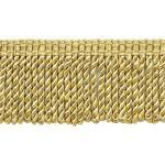 DecoPro 76 mm langes Strandholz, Harvest Gold, Maisbarn, Fransenborte | Stil: BFS3 (22042) | Farbe: Honigsäckchen – PR07 | Verkauf pro Yard – 91 cm