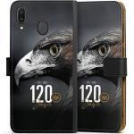 DeinDesign Handyhülle »120 Jahre Eintracht« Samsung Galaxy M20, Hülle Eintracht Frankfurt Offizielles Lizenzprodukt 120 Jahre, schwarz, schwarz