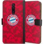 Schwarze DeinDesign FC Bayern Herrentaschen mit Muster