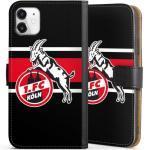 DeinDesign Handyhülle »Colour Stripes 1.FC« Apple iPhone 11, Hülle 1. FC Köln Offizielles Lizenzprodukt Fußball, schwarz, schwarz