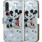 DeinDesign Handyhülle »Mickey&Minnie In Love« Samsung Galaxy A50, Hülle Offizielles Lizenzprodukt Minnie Mouse Mickey Mouse, weiß, weiß
