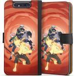 DeinDesign Handyhülle »Team 7« Samsung Galaxy A80, Hülle Naruto Shippuden Sasuke Sakura, schwarz, schwarz