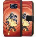 DeinDesign Handyhülle »Team 7« Samsung Galaxy S6, Hülle Naruto Shippuden Sasuke Sakura, schwarz, schwarz