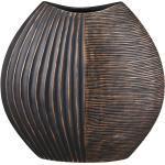 Deko-Vase ¦ braun ¦ Polyresin (Kunstharz) Ø: 11.2
