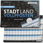 Denkriesen - Stadt Land Vollpfosten® - Blue Edition - Wissen ist Macht. (Spiel)