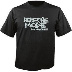 Schwarze Depeche Mode Damenbandshirts