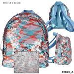DEPESCHE 10826 TOPModel Rucksack Streichpaillette multicolour blau