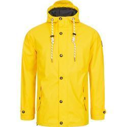 DEPROC Active Regenjacke »Friesennerz HOMESTAR PEAK MEN«, gelb, yellow