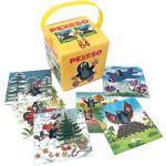 Der kleine Maulwurf Rappa 707165 Memory Kartenspiel mit 64 Legekarten