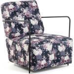 Design Sessel mit Blumen Muster modern