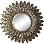 Design Spiegel in Altgoldfarben Vintage Style