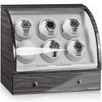 Designhütte Basel 6 LCD Uhrenbeweger - Dark Oak