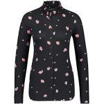 DESOTO Damen Blue Eve 82557-2-049 Black pink Flowers, 44