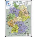 Deutschlandkarte 120x90 cm