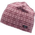 Devold Alnes Cap Pink-Rot, Merino Kopfbedeckungen, Größe One Size - Farbe Foxglove Merino