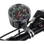 DEWIN Fahrradcomputer Tachometer,Fahrradtacho Analog, Retro Tachometer für 26/27.5/28/29 Zoll Fahrräder