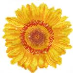 "DIAMOND DOTZ® DD3.004 Original Diamond Painting Happy Sunflower"" 20 x 20 cm"