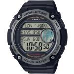 Digital Uhr 'Collection' In Grau/Schwarz