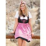 Dirndl Sara Lindholm Schwarz/Pink