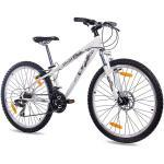 """Dirtbike 26"""" Zoll MTB Mountainbike Jugendrad KCP DIRT ONE mit 21G SHIMANO weiss"""