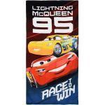 Disney Cars Duschtuch »Kinder Badetuch Lightning McQueen & Cruz Ramirez, 70 x 140 cm, blau«, blau