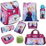 Disney die Eiskönigin Anna & ELSA Schulranzen-Set 9-TLG. Scooli Campus Fit Frozen Magic mit Sporttasche Federmappe und Regenschutz